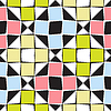 Vector clipart: abstract squares pattern