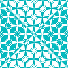 Vector clipart: blue monochromatic pattern