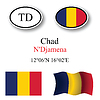 Vector clipart: chad icons set