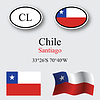 Vector clipart: chile icons set