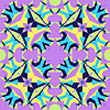 Vector clipart: colorful abstract geometric pattern