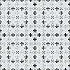 Vector clipart: cross pattern