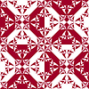 Vector clipart: curved geometric pattern
