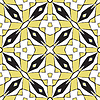 Vector clipart: diamonds squares pattern