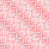 Vector clipart: leafy red pattern