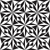 Vector clipart: seamless black and white texture