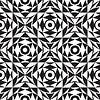 Vector clipart: seamless monochrome texture