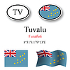 Vector clipart: tuvalu icons set