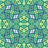Vector clipart: twisted geometric pattern