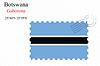 Vector clipart: botswana stamp design