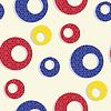 Векторный клипарт: бесшовная текстура с пузырями