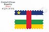 Векторный клипарт: Центрально-Африканская республика дизайн печать