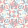 Векторный клипарт: круги образец пастельный