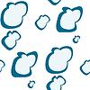 Векторный клипарт: облака картины