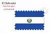 Векторный клипарт: Сальвадор печать дизайн