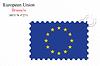 Векторный клипарт: Европейский союз печать дизайн