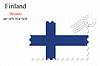 Векторный клипарт: Финляндия печать дизайн