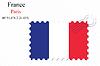 Векторный клипарт: Франция штамп дизайн