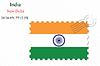 Векторный клипарт: Индия печать дизайн