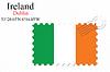 Векторный клипарт: Ирландия печать дизайн