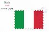 Italien Briefmarkenentwurf
