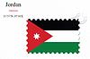 Векторный клипарт: Иордания печать дизайн