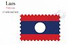 Векторный клипарт: Лаос печать дизайн