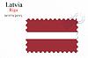 Векторный клипарт: Латвия печать дизайн