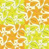 Векторный клипарт: листья красочные текстуры