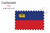 Векторный клипарт: Лихтенштейн печать дизайн