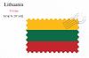Векторный клипарт: Литва печать дизайн