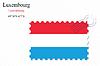 Векторный клипарт: Люксембург печать дизайн