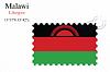 Векторный клипарт: Малави печать дизайн