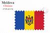 moldova stamp design