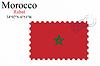 Векторный клипарт: Марокко печать дизайн