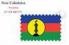 Векторный клипарт: Новый дизайн Каледония печать