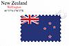 Векторный клипарт: Новая Зеландия дизайн печать