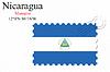 Векторный клипарт: Никарагуа печать дизайн