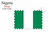 Векторный клипарт: Нигерия печать дизайн