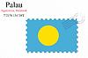 Векторный клипарт: Палау печать дизайн