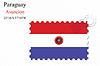 Векторный клипарт: Парагвай печать дизайн