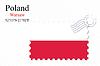 Векторный клипарт: Польша штамп дизайн