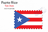 Vector clipart: puerto rico stamp design