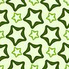 Векторный клипарт: округлые звезды шаблон