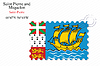 saint pierre and miquelon stamp design