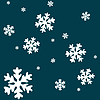 Векторный клипарт: дингбаты-снежинки