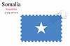 Векторный клипарт: Сомали печать дизайн