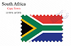 Векторный клипарт: Южная Африка печать дизайн