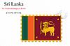 Векторный клипарт: Шри-Ланка печать дизайн