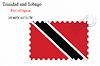 Векторный клипарт: Тринидад и Тобаго печать дизайн